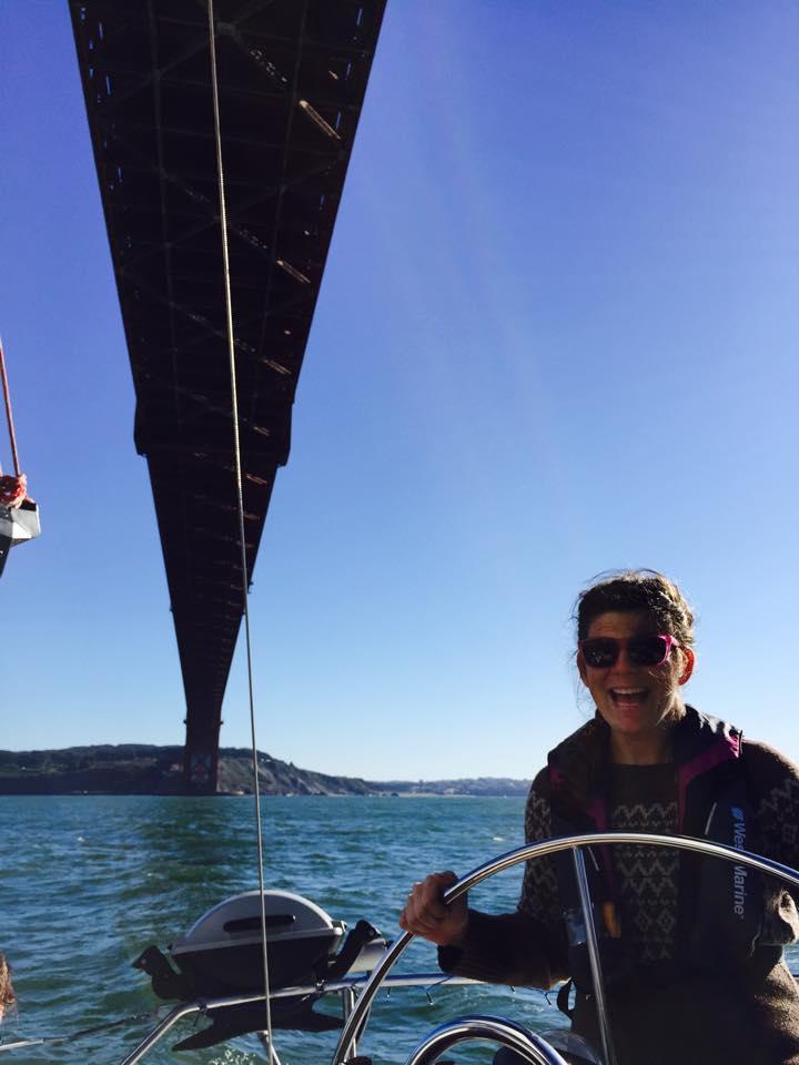 Jen Under Bridge