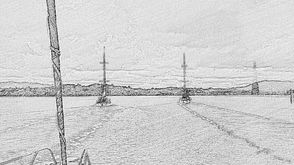 Sketchy Petaluma River Trip
