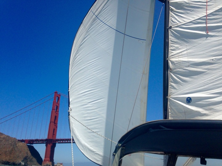 Sailing Back into the Bay